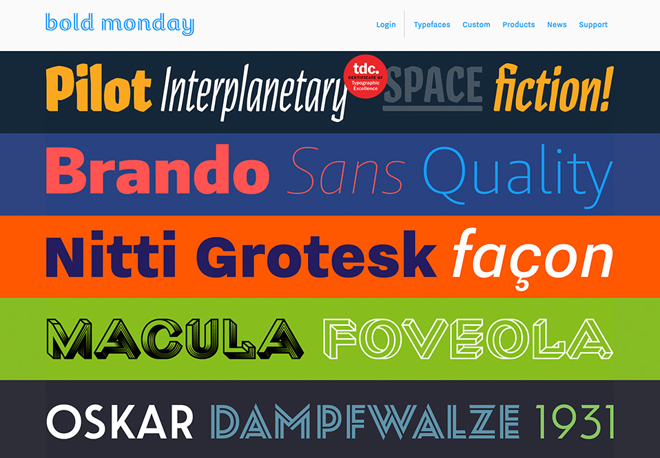 Type Foundries Archives   Typeyeah