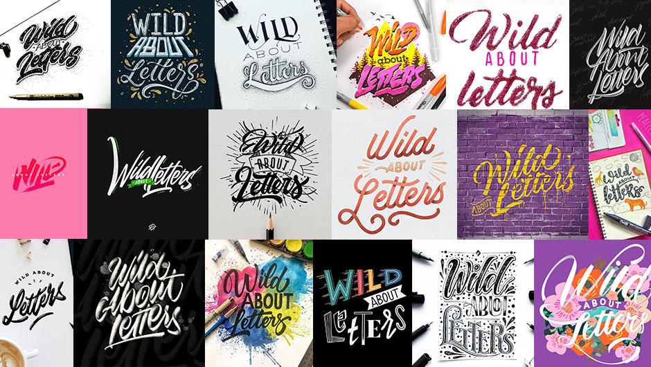 #Wildaboutletters Instagram Challenge